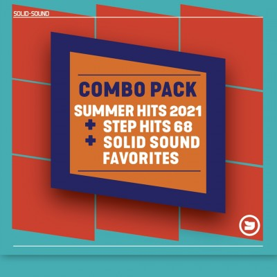 Combo pack: Summer Hits 2021 + Step Hits 68 + SOLIDSOUND favorites
